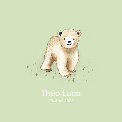 Baby Bear – pale green