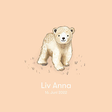 Baby Bear – light orange