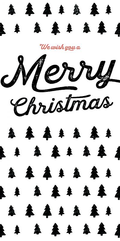 Individualisierte Weihnachtskarten.Ma Loulou Weihnachtskarte